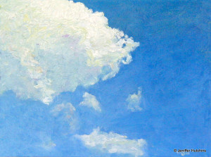 """Clouds"" Oil 9""x12"" * Sold"