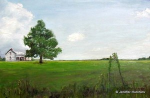 """Chatham Farm,"" Oil  24""x30"" *  Sold"