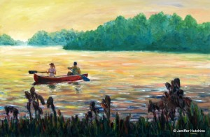 """Crabtree Lake,"" Oil 24""x36"" $850"