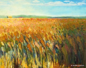 """Newport Field,"" Oil  24""x36""  *  Sold"